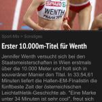 Laola1-Mitteilung, Mai 2015